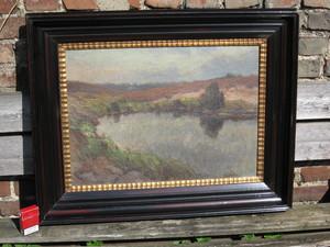 Toni WOLTER - 绘画 - Landschaft in der Eifel