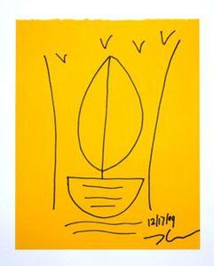 Jeff KOONS - Dessin-Aquarelle - Boat