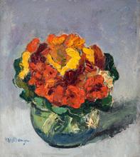 Kees VAN DONGEN - Painting - Bouquet de fleurs