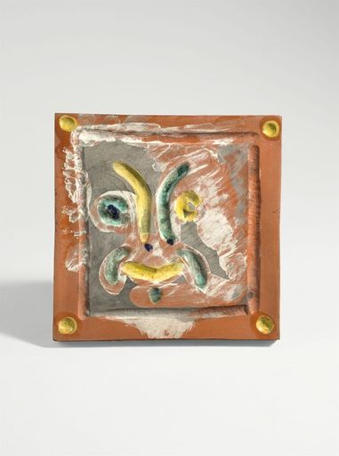 Pablo PICASSO - Ceramic - Masque rieur