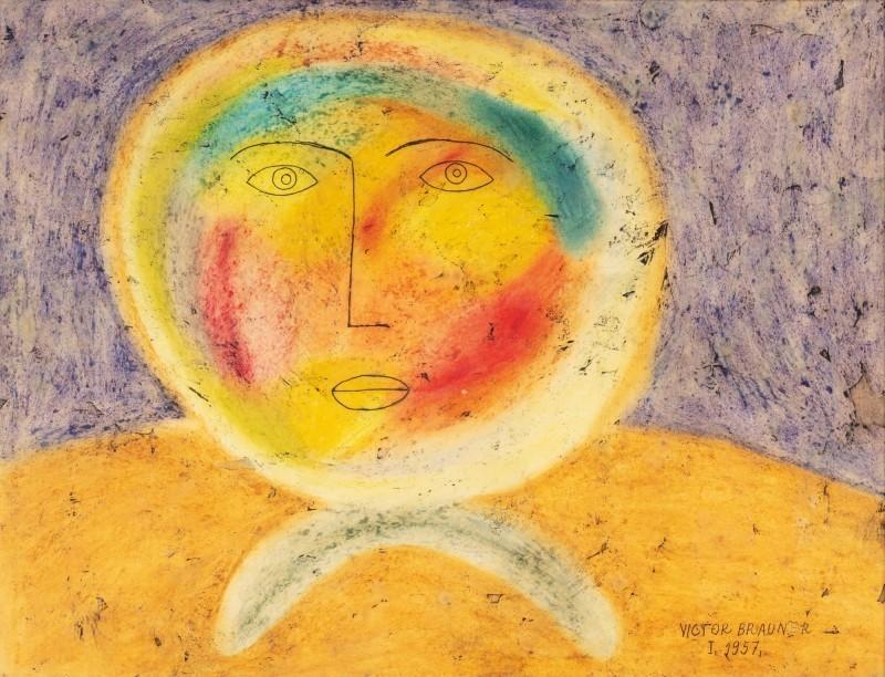 Victor BRAUNER - Painting - Réverbération
