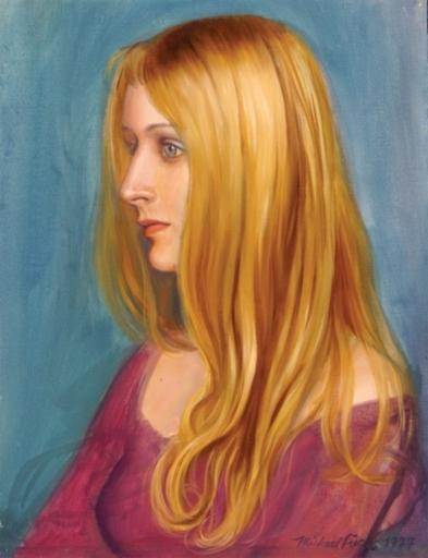 Michael FUCHS - Gemälde - Portrait of a Woman
