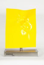 Helidon XHIXHA - Sculpture-Volume - Energia attraverso il giallo