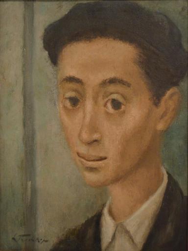 Leonide FRECHKOP - Pintura - Male portrait