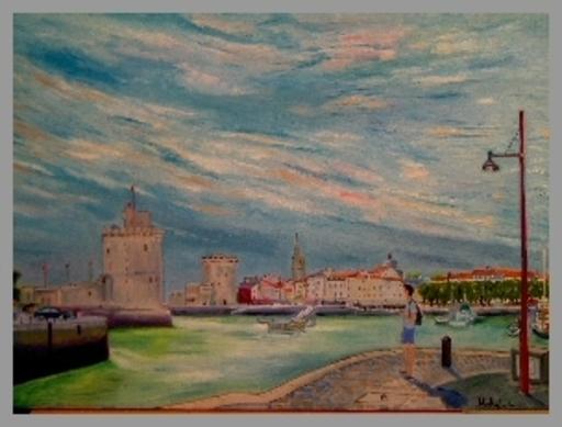 Jean-Claude RABOIN - Painting - Le port de la Rochelle