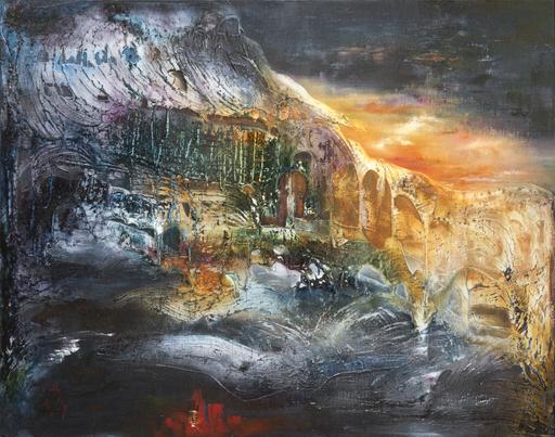 Danielle MAILLET-VILA - Painting - Plato's cave
