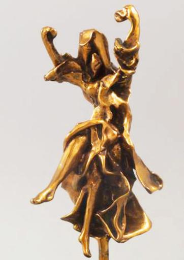 Salvador DALI - Escultura - Carmen Castanets (Prestige Scale #PE2 of 19))