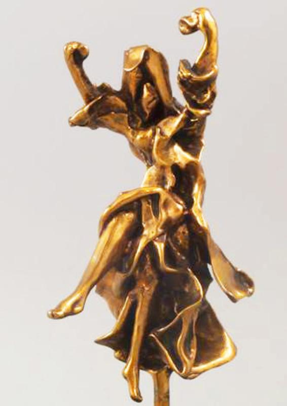 Salvador DALI - Sculpture-Volume - Carmen Castanets (Prestige Scale #PE2 of 19))