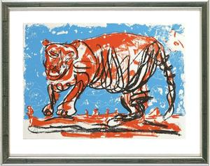 online store 0c0c1 e1ed7 Tiger | Markus LÜPERTZ | vendita d'arte online | artprice