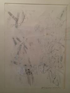 Robert RAUSCHENBERG, Black and White Collage