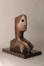 亨利•摩尔 - 雕塑 - Head (Not for Sale)