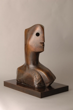 Henry MOORE - Sculpture-Volume - Head (Sold)