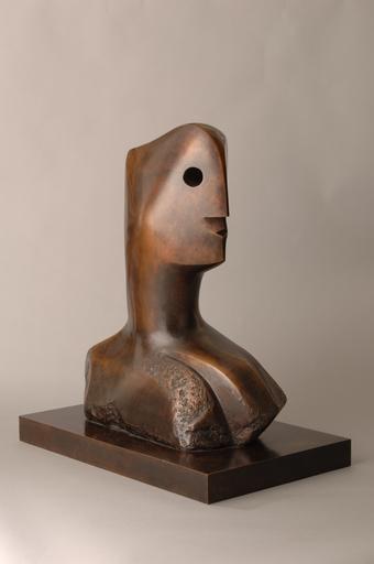 亨利•摩尔 - 雕塑 - Head (Sold)