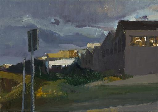 Eric BARI - Painting - Avant l'orage