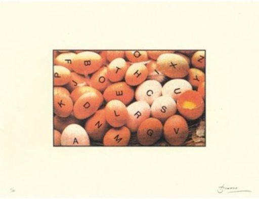 Joan BROSSA - Grabado - Poema visual 27