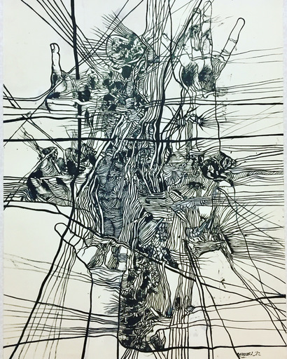 Agenore FABBRI - Drawing-Watercolor
