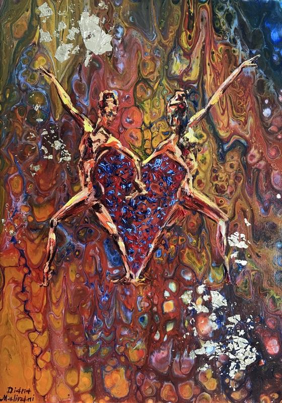 Diana MALIVANI - Pittura - Reciprocity