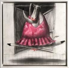 Jorge VALLEJOS - Painting - Bailarina