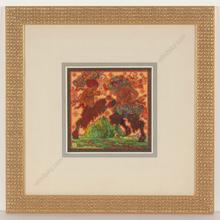 """Alfred WAAGNER - Disegno Acquarello - """"Scherzo"""", watercolor, 1910s"""