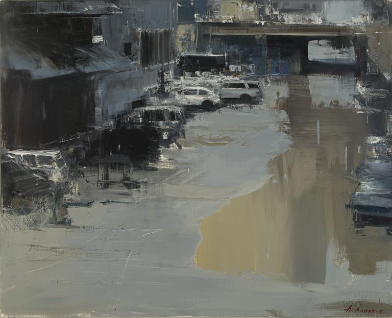 Alexey ALPATOV - Gemälde - Park