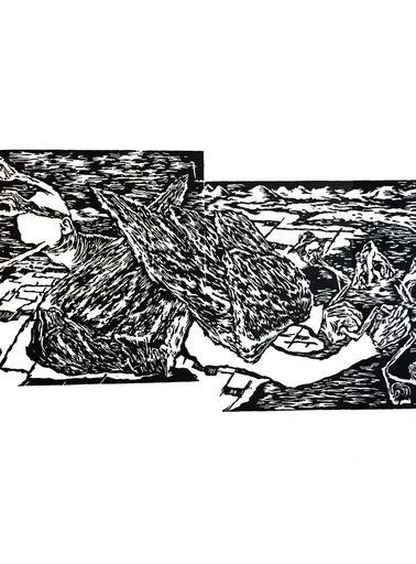 Cornelia EICHHORN - Print-Multiple - « Le rêve d'Olearius »