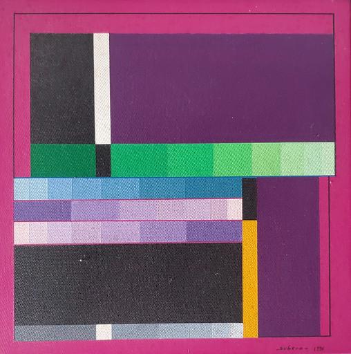 Oswaldo SUBERO - Gemälde - Espacio Negro N 659