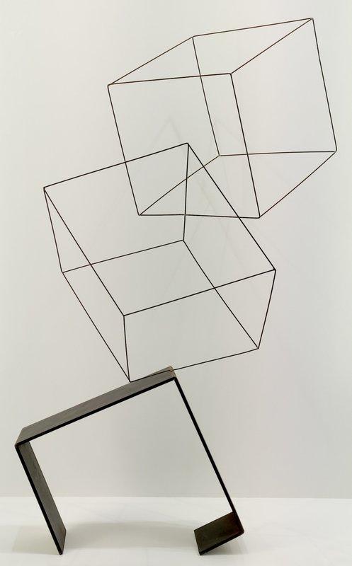 Lukas ULMI - Sculpture-Volume - Baile de cubos
