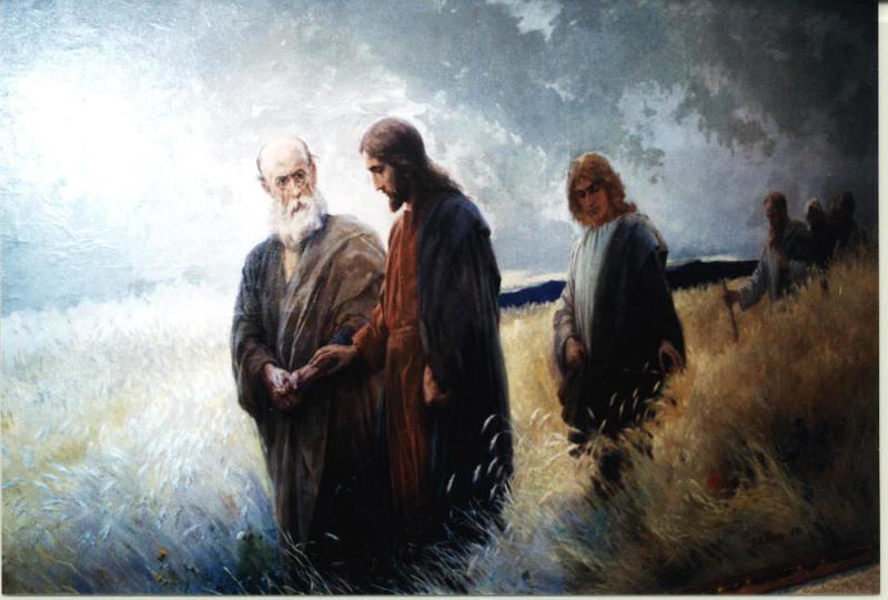 Johannes Raphael WEHLE - Pintura - Hauptwerk,main work,,Und sie folgten ihm nach,,