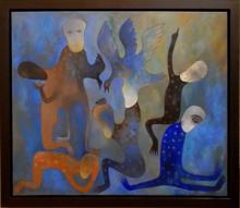 Manuel MENDIVE - Painting - Sabiduria
