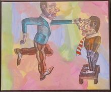 Antonio SEGUI - Pintura - Tomando la medida