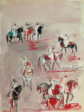 Hassan EL GLAOUI (1924) - Ensemble d'Oeuvres d'El Glaoui