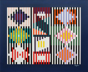 Yaacov AGAM - Druckgrafik-Multiple - Composition