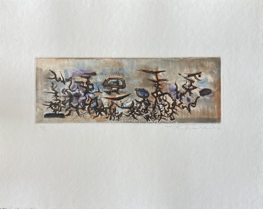 ZAO Wou-Ki - Druckgrafik-Multiple - Untitled