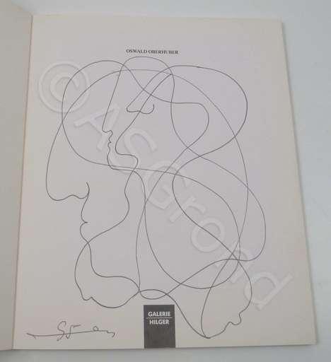 Oswald OBERHUBER - Dessin-Aquarelle - Ohne Titel / Untiteled