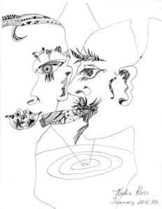 Nadia RUSS - Drawing-Watercolor - Cigar