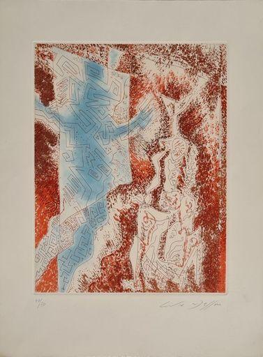 André MASSON - Print-Multiple - La Dame au labyrinthe