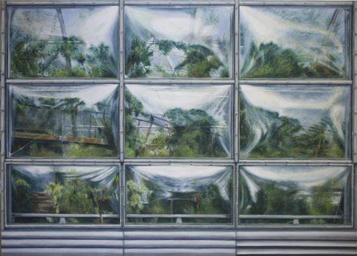 Regine FREISE - Pintura - « La serre »