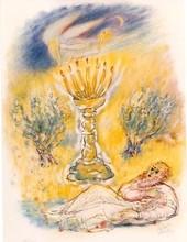 Reuven RUBIN - Grabado - The Prophets Suite