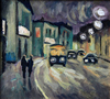 Valeriy NESTEROV - Peinture - Sretenka street. Moscow