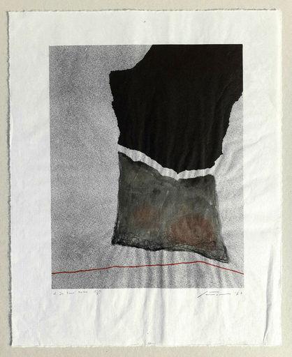 Giuseppe SANTOMASO - Stampa-Multiplo - Composizione