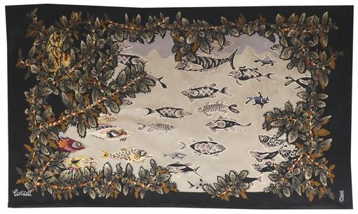 Jean LURÇAT - Tapestry - l'étang