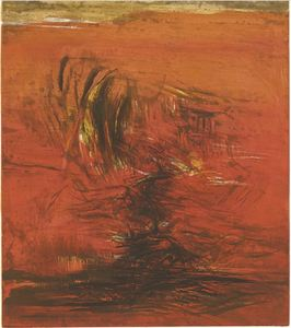 ZAO Wou-Ki - Stampa-Multiplo - Untitled
