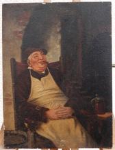 R. HAGENAUER - Painting - The smoking break