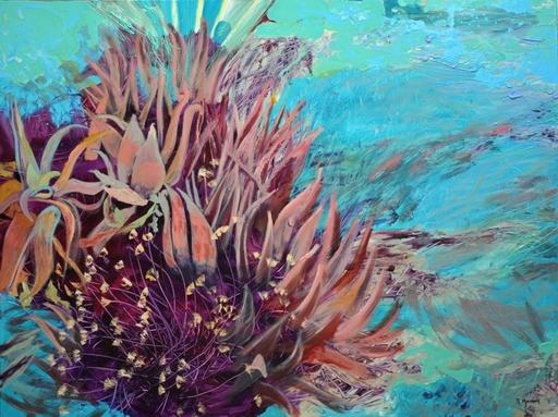 Peny MANAVI - Gemälde - Cactus 6