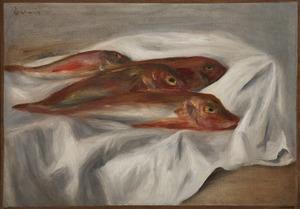 Pierre-Auguste RENOIR - Painting - Les rougets (1885)