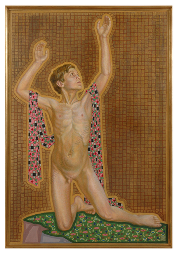 """Alfred WAAGNER - Gemälde - """"Spring of Life"""", Large Painting, 1921"""