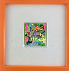 Nicole LEIDENFROST - Gemälde - Sitzend im Park