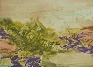 ZAO Wou-Ki - Estampe-Multiple - Etching No. 325