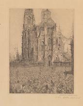 詹姆斯.恩索尔 - 版画 - La Cathédrale