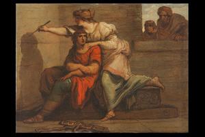 Felice GIANI - Gemälde - Allegory of Painting
